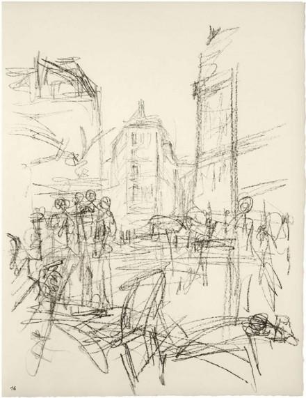 Alberto Giacometti, Crowd at Intersection (1965), all images courtesy Gagosian Hong Kong