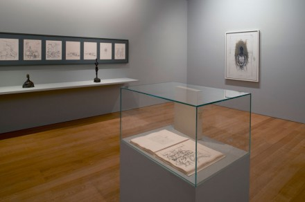 Alberto Giacometti, Without End (Installation View)