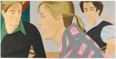 Alex Katz, Nabil's Loft (1976), all images courtesy Galerie Thaddaeus Ropac
