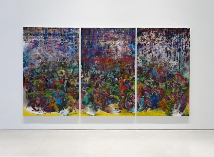 Ali Banisadr, Ran (2014), all images courtesy Sperone Westwater