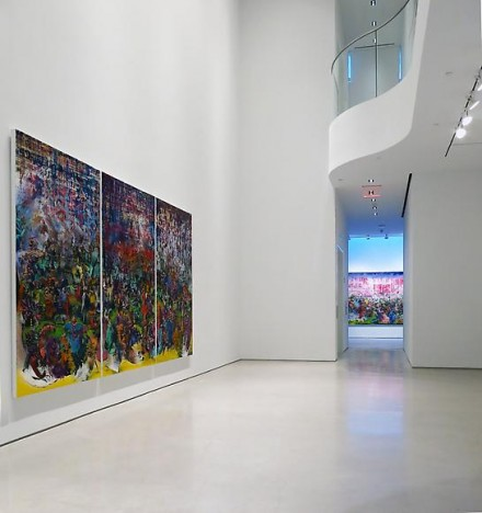 Ali Banisadr, Motherboard, (Installation View)