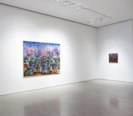 Ali Banisadr, Motherboard (Installation View), all images courtesy Sperone Westwater