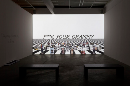 Frances Stark (Installation View), via Gavin Brown's