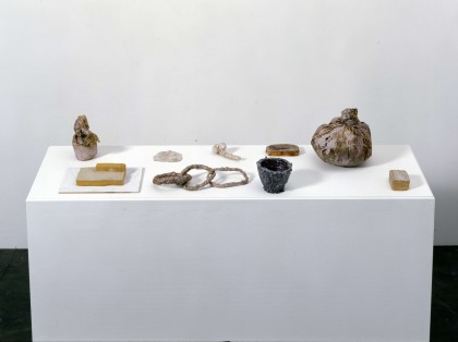 Heidi Bucher, Untitled (9 Objects), Ca. 1972-1987. Courtesy Migros Museum für Gegenwartskunst, Zürich