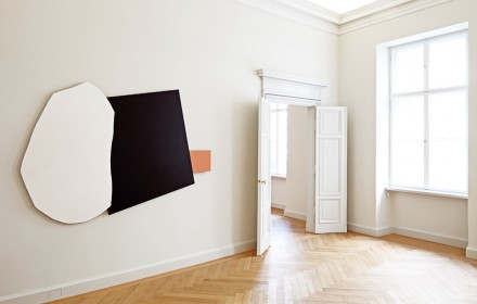 Imi Knoebel, Rosa Ort, (Installation View)