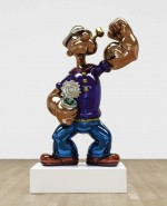 Jeff Koons's Popeye, via Art Daily