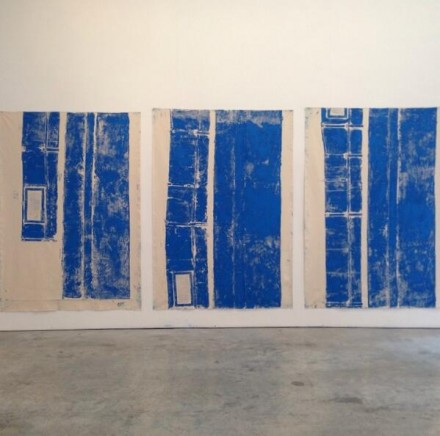 Jennifer Bornstein (Installation View), via Art Observed