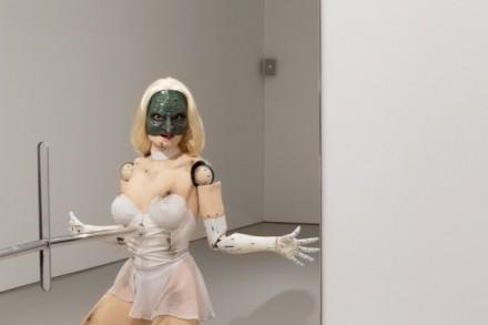 Jordan Wolfson, (Female Figure) (2014), via David Zwirner