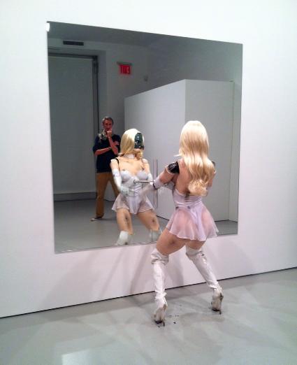 Jordan Wolfson, (Female Figure) (2014), via Art Observed