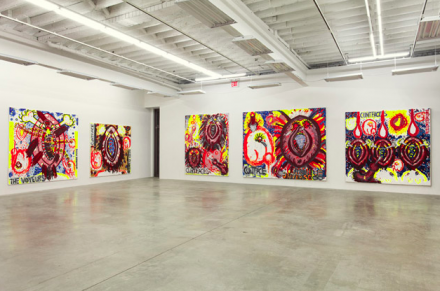 Judith Bernstein (Installation View), via Gavin Brown's