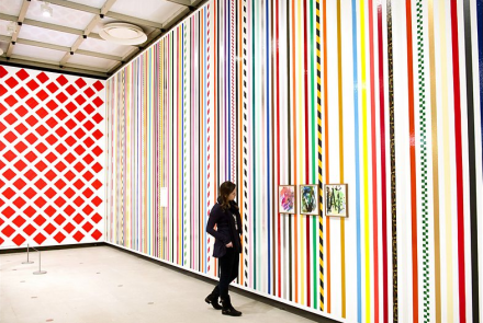 Martin Creed, What's the Point of it? (Installation View), via BBC