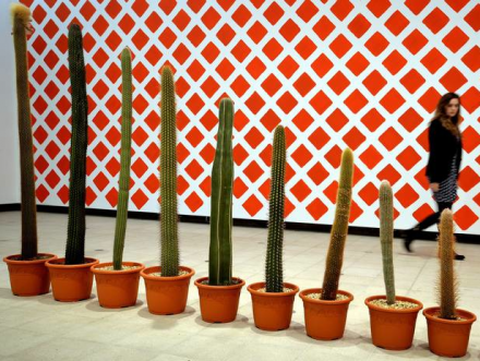 Martin Creed, What's the Point of it? (Installation View), via Independent