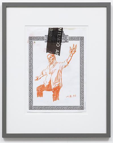 Martin Kippenberger, Untitled, Wiener Staatsoper, (1996), via Skarstedt