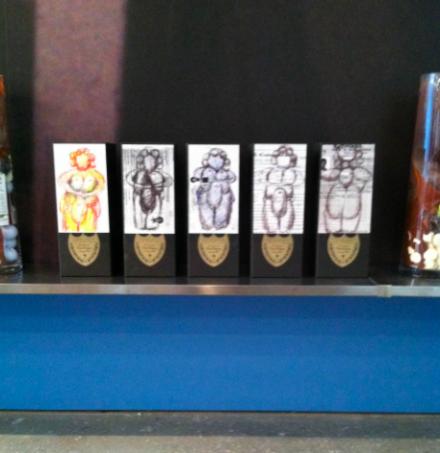 Oscar Murillo, A Mercantile Novel (Installation View), via Art Observed
