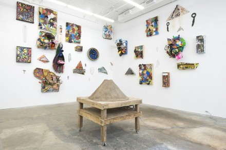 Peter Coffin, Agathe Snow, Willy Le Maitre, The Weird Show (Installation View), via CANADA Gallery