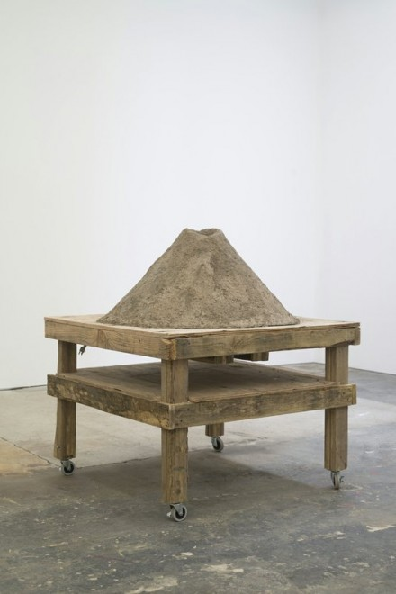 Peter Coffin Untitled (Natural Phenomenon, Volcano Model), (2014), via CANADA Gallery