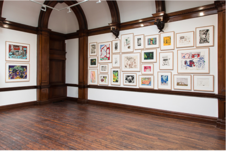 Peter Doig: Early Works (Installation View)
