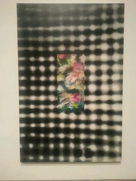 Ross Bleckner, via Art Observed