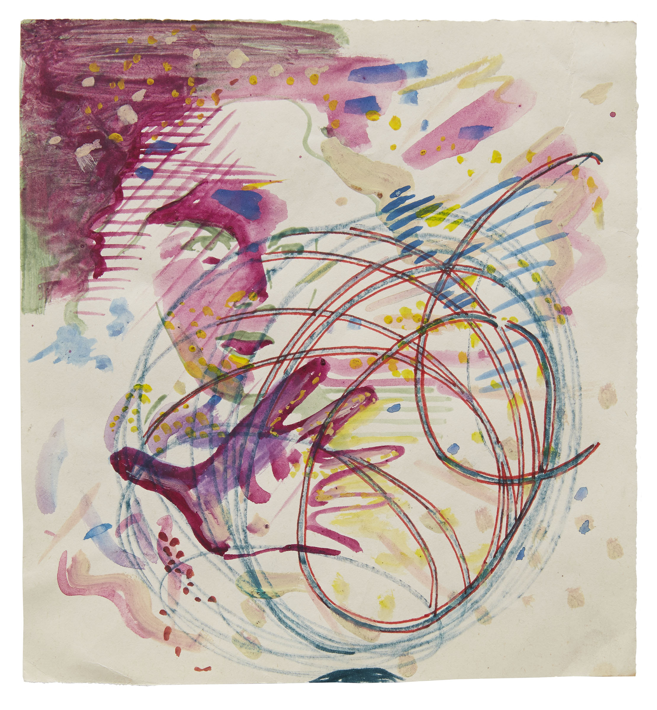 » New York — Sigmar Polke: Early Works on Paper On View at Michael Werner Gallery Through June 7 ...