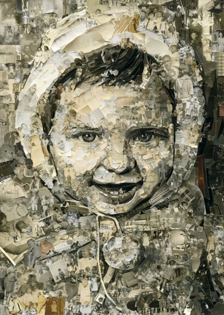 Vik Muniz, Vik 2 Years Old (Album) (2014), Courtesy of the artist and Sikkema & Jenkins Co, New York