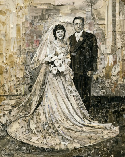 Vik Muniz, Wedding (Album) (2013), Courtesy of the artist and Sikkema & Jenkins Co., New York
