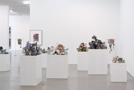 Walead Beshty, Selected Bodies of Work (Installation View),