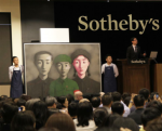 Zhang Xiaogang sells at Sotheby's, via Sotheby's