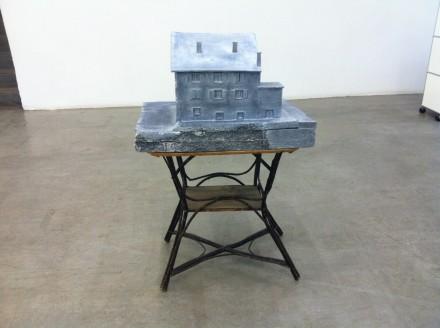 Heidi Bucher, Das Ahnenhaus/Obermühle (Modell), 1981 via Osman Can Yerebakan