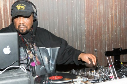 Afrika Bambaataa, Photography by Ryan Kobane, Courtesy of BMF Media