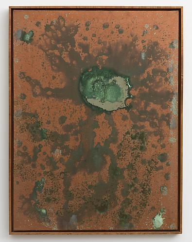Andy Warhol, Oxidation Painting (1978), via Skarstedt