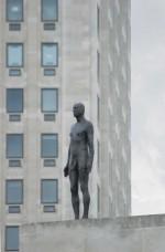 Antony Gormley's Event Horizon, via Art Newspaper