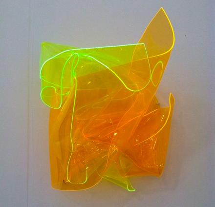 Berta Fischer at Karin Guenther, via Art Observed
