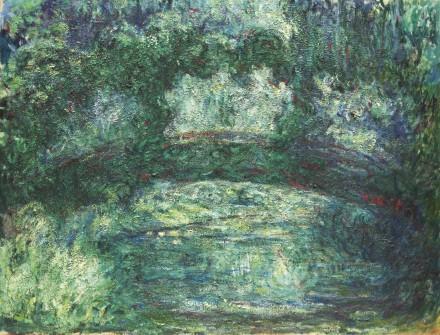 Claude Monet, Le Pont Japonais (1918-1924), Via Sotheby's