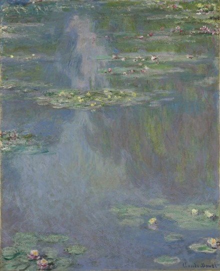 Claude Monet, Nymphéas (1907), via Christie's