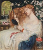 Dante Gabriel Rossetti (1828–1882) and Henry Treffry Dunn (1838-1899) Lady Lilith 1867 Watercolor and gouache on paper, via The Met