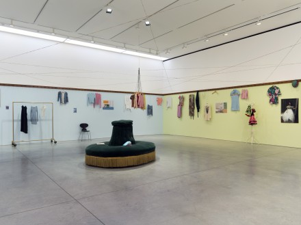 Dominique Gonzalez-Foerster, Euqinimod & Costumes (Installation View), Courtesy of 303 Gallery