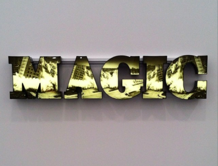 Doug Aitken at Regen Projects, via Art Observed