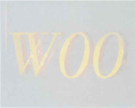 Ed Ruscha, Woo Woo (2013), via Gagosian