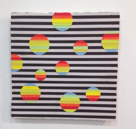 Elise Ferguson at Romer Young, via Art Observed