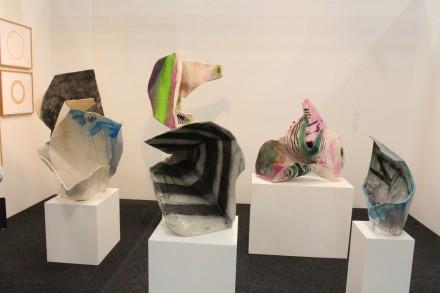 Ernesto Burgos at Kate Werble Gallery booth