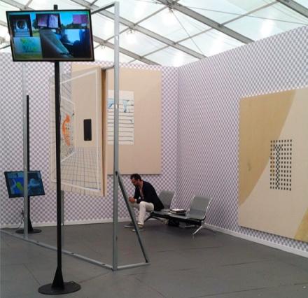 Florian Meisenberg at Simone Subal, via Art Observed