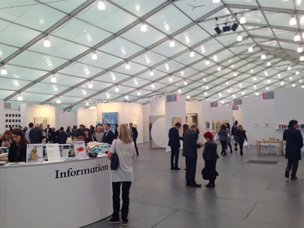 Frieze Art Fair, via Art Observed