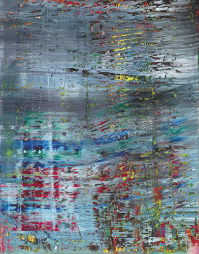 Gerhard Richter, Abstratkes Bild (712) (1990), via Christie's