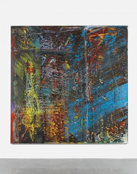 Gerhard Richter, Blau (1988), via Sotheby's