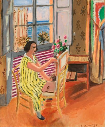 Henri Matisse, La Séance Du Matin (1924), Via Sotheby's