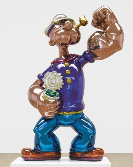 Jeff Koons, Popeye (2009-2011), via Sotheby's