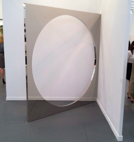 Jeppe Hein at 303 Gallery, via Art Observed