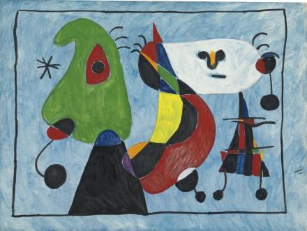 Joan Miró, Sans Titre, via Sotheby's
