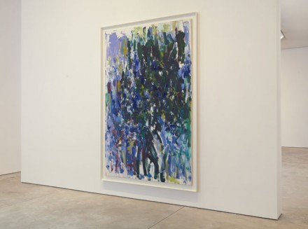 Joan Mitchell, Trees (Installation View)