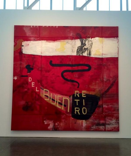 Julian Schnabel, Untitled (los Patos Del Buen Retiro II) (1991), via Art Observed